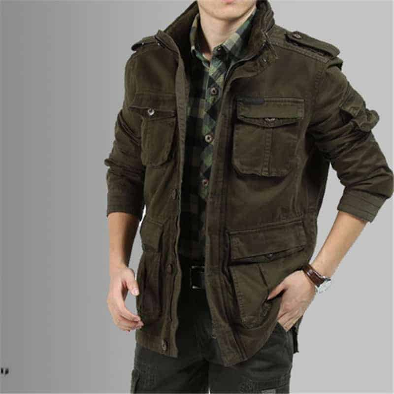 áo khoác jean nam giới